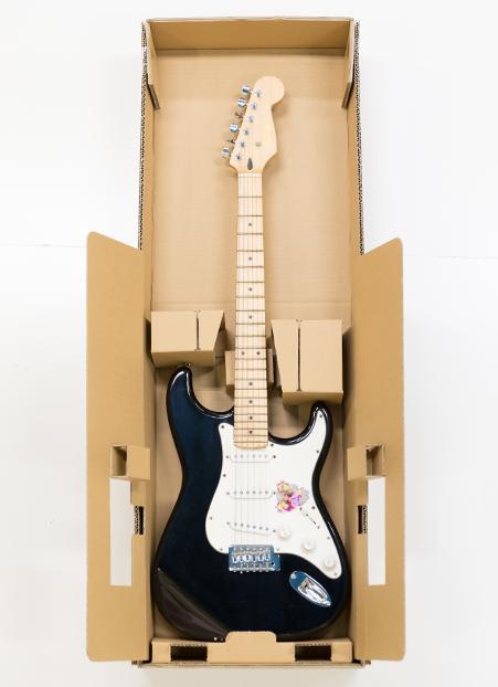 ギターの梱包設計